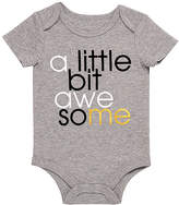 Baby Starters Gray 'A Little Bit Awesome' Bodysuit - Infant