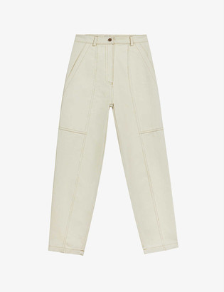 Ted Baker Sunsete tapered high-rise jeans