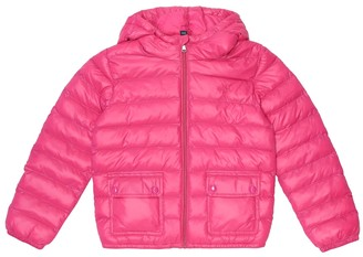 Polo Ralph Lauren Kids Hooded puffer jacket