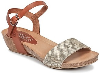 Casual Attitude IDERER women's Sandals in Gold