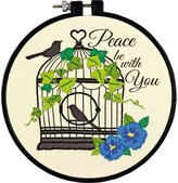 Dimensions Crafts Adult Learn a Craft Embroidery, Birdcage