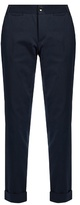 A.P.C. Adele pinstriped cotton-blend trousers