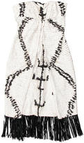 Giambattista Valli Silk Fringe Dress