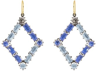 Larkspur & Hawk Caterina rhombus earrings
