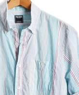 Todd Snyder Lightweight Awning Stripe Button-down Shirt