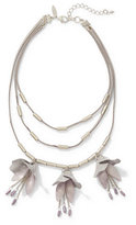 New York & Co. Layered Floral Statement Necklace
