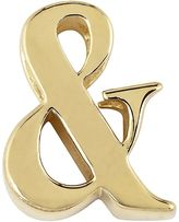 Sweet Sentiments 14k Gold Over Silver Initial Charm