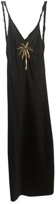 ATTICO Black Silk Dresses