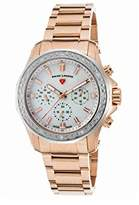 Swiss Legend Women's 'Islander' Quartz Stainless Steel Casual Watch, Color:Rose Gold-Toned (Model: 16201SM-RG-22-SB)