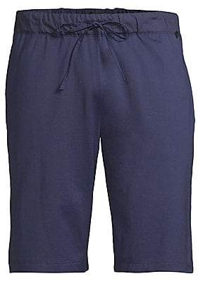 Hanro Men's Night & Day Cotton Knit Shorts