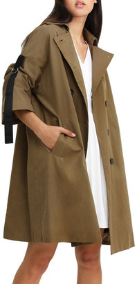 Belle & Bloom Russian Romance Military Oversized Trench coat