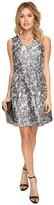 Kensie Marble Brocade Dress KSDK7813