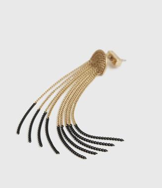 AllSaints Electra Gold-Tone Drop Earrings