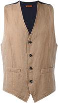 Barena classic waistcoat - men - Cotton/Linen/Flax - 46