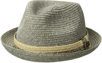 Bailey Of Hollywood Men's Pelly Braided Fedora Trilby Hat