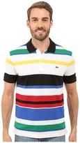 Lacoste Jersey Piqué Multi-Striped Polo