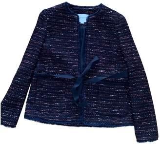 LK Bennett \N Burgundy Tweed Jacket for Women