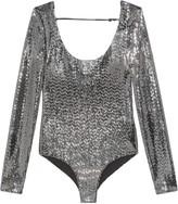 Gucci metallic effect bodysuit
