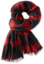 L.L. Bean Men's Pistil Barlow Scarf, Plaid