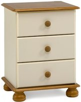 Richmond Steens Bedside Cabinet, Cream