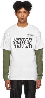 Ambush White Cape T-Shirt