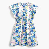 J.Crew Girls' flutter-sleeve dress in vintage floral