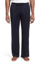 Daniel Buchler Men's Yarn Dye Silk & Cotton Lounge Pants