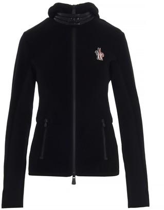 MONCLER GRENOBLE Logo Zipped Fleece Jacket