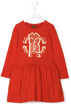 Roberto Cavalli printed logo dress