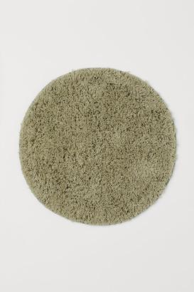 H&M Deep Pile Bath Mat - Green