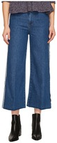 RED Valentino Denim Stone Washed Hatching Embroidery Pants Women's Jeans