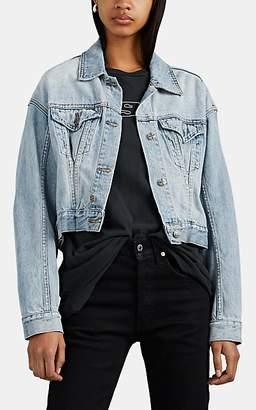 Ksubi Kendall Jenner for Women's Justify Denim Trucker Jacket - Blue