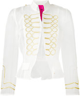 La Condesa - Borgan military jacket - women - Silk - 36