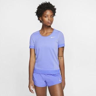Nike Women's Short-Sleeve Running Top Infinite