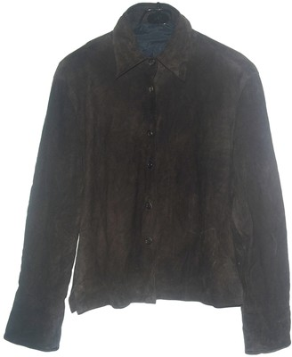 Margaret Howell Brown Leather Tops
