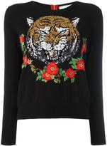 Gucci embellished cashmere sweater - women - Cotton/Cashmere - XL