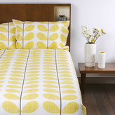 Orla Kiely Scribble Soft Duvet Cover - Lemon - King