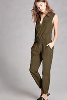 Forever 21 FOREVER 21+ Sleeveless Zippered Jumpsuit