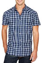 Lucky Brand Short-Sleeve Checked Santa Fe Western Shirt