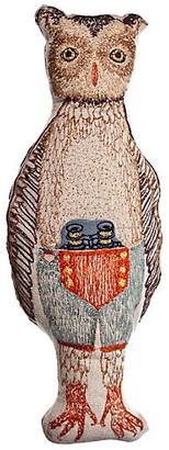 Coral & Tusk Owl Pocket Doll