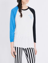 Obey Toadally Awesome cotton-blend top
