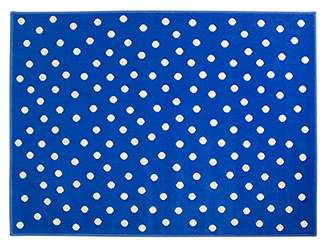 Lorena Canals Dots Acrylic Rug (Deep Blue, 2X-Large)