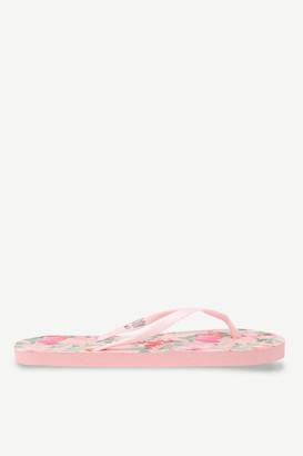 Ardene Foam Floral Flip-Flops