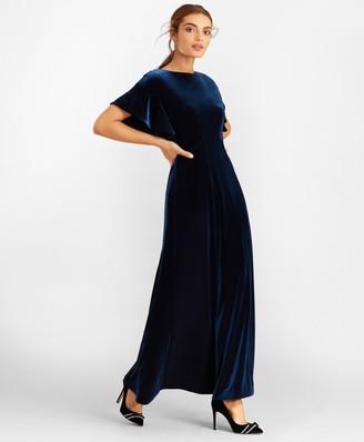 Brooks Brothers Velvet Gown