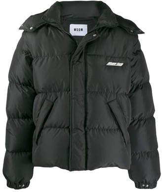 MSGM Hooded Winter Jacket