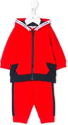Little Marc Jacobs Color-Block Track Suit