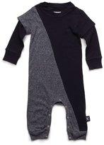 Nununu Infant 1/2 & 1/2 Playsuit - Black/Charcoal