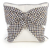 Mackenzie Childs MacKenzie-Childs White Bow Pillow