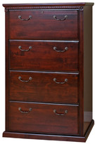 kathy ireland Home by Martin Furniture Huntington Club 4-Drawer Lateral File Cabinet