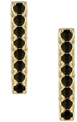 Jaime Nicole Gold&Black Stud Earrings